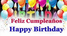 Indians Birthday celebration in two versions(Spanish and English)  by svariyar_me